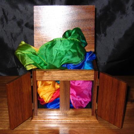 Walnut Mini Production Cabinet by Trickery