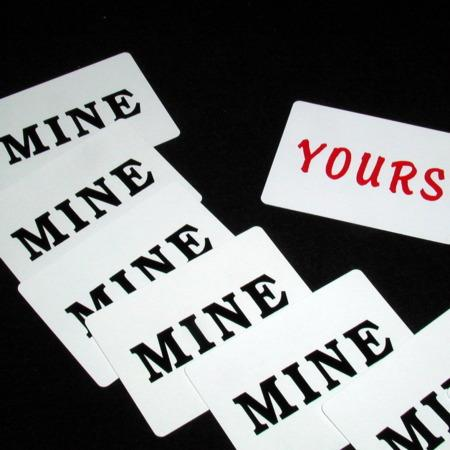 What's Mine is Mine by Paul Richards