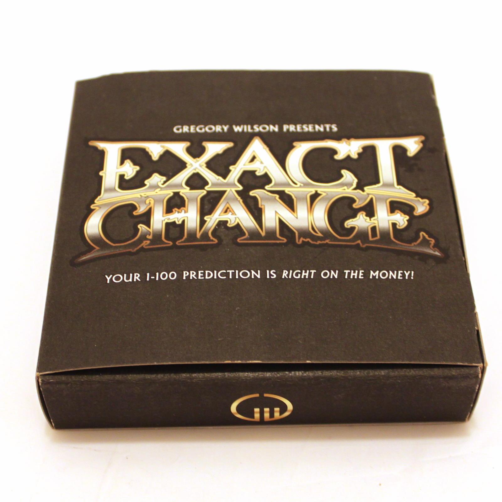Exact Change by Greg Wilson