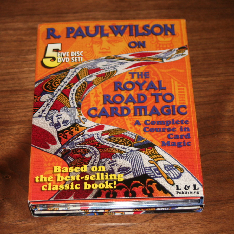 Royal Road To Card Magic DVD by R. Paul Wilson