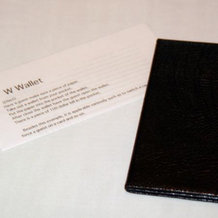 W-Wallet (Regular Size) by Fuji Magic Factory