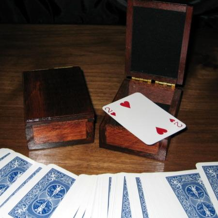 Wooden Mini Card Boxes by Trickery