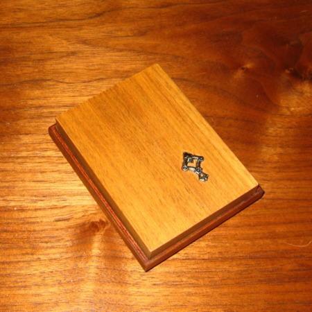 Card Box by Woodmagic Studio