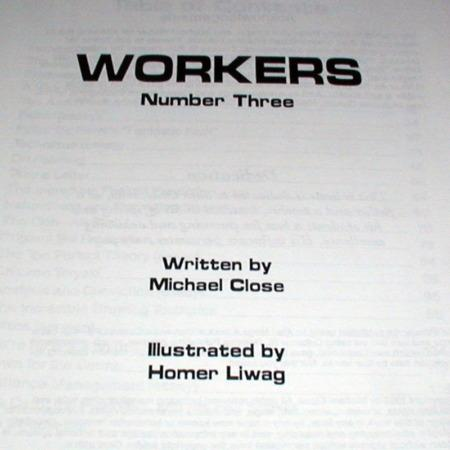 Workers - Vol. 3 by Michael Close