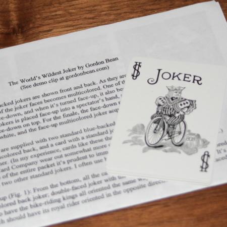 World's Wildest Joker by Gordon Bean