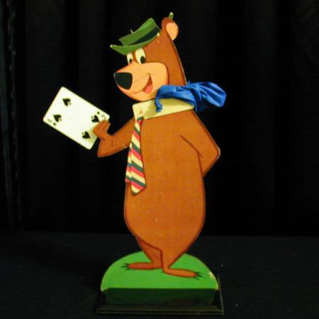 Forgetful Yogi Bear by Warren Hamilton