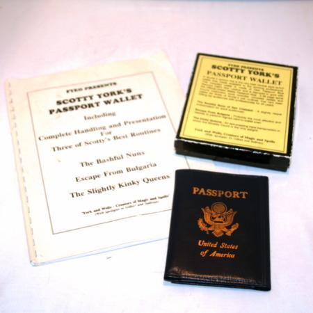 Passport Wallet by Scotty York