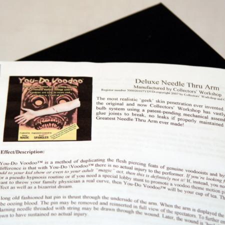 Original Needle Thru Arm by Viking Mfg.