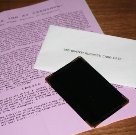Zee Switch Business Card Case by Ray Piatt