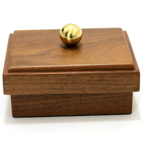 Locking Card Box by Milson-Worth