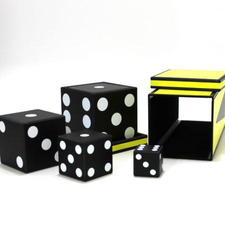 Dice Pyramid by Dr. Marrax