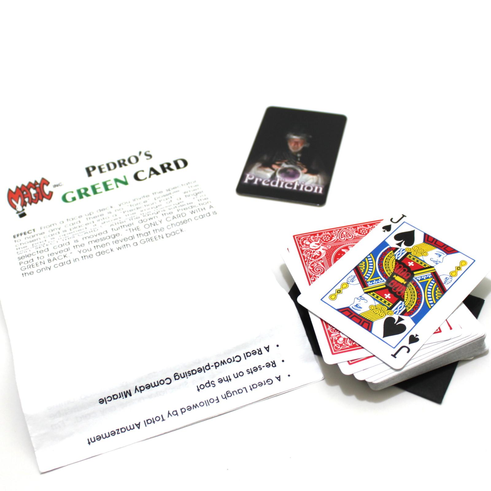 Pedro's Green Card by Magic Inc.