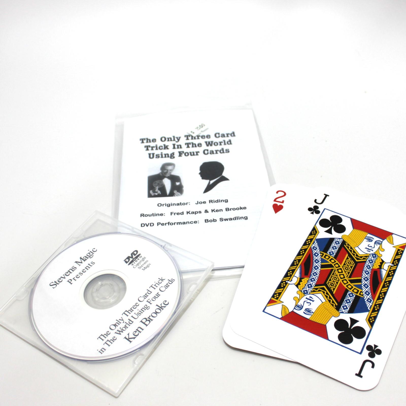 Three Card Four by Joe Riding
