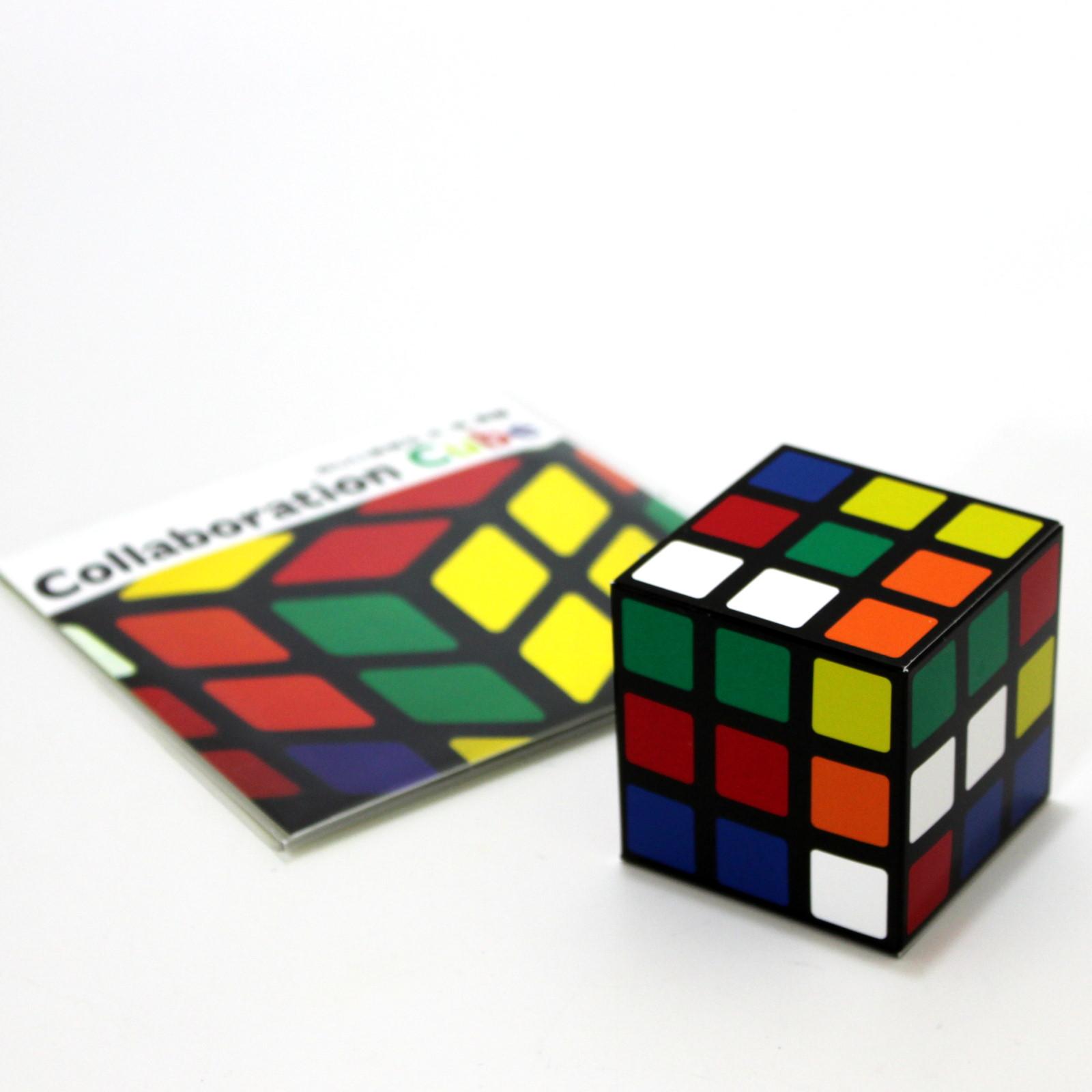 Collaboration Cube by Akira Fujii, Hideki Tani