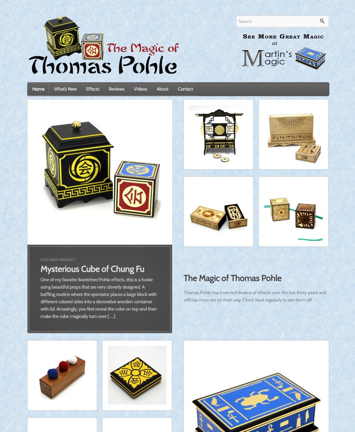 The Magic of Thomas Pohle