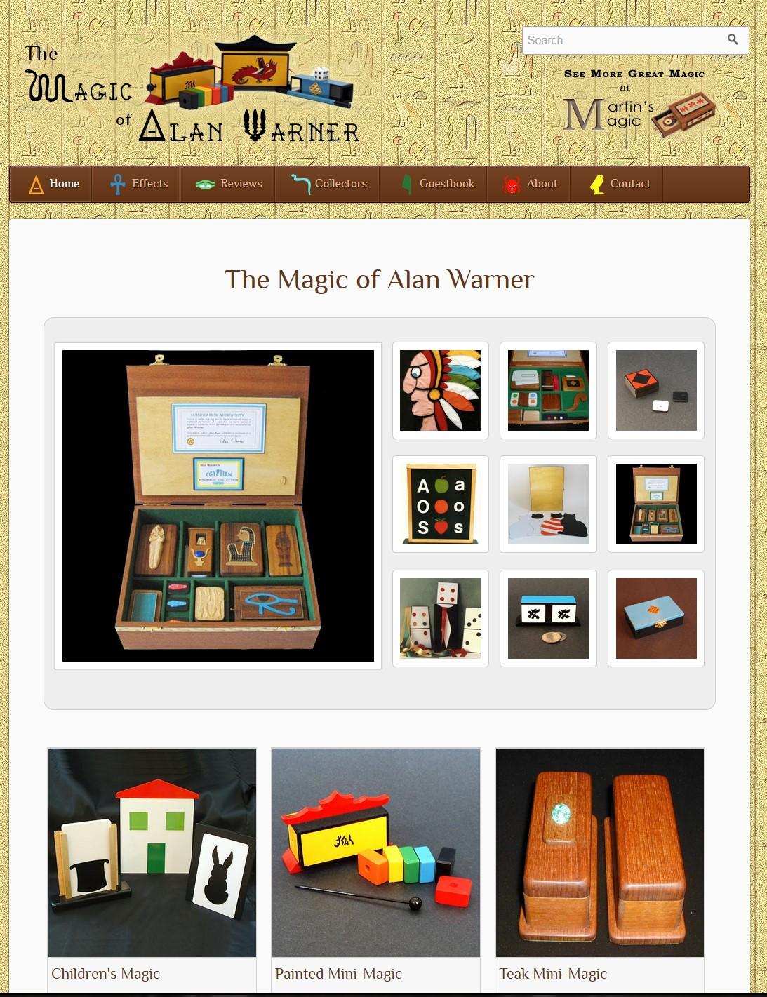 The Magic of Alan Warner