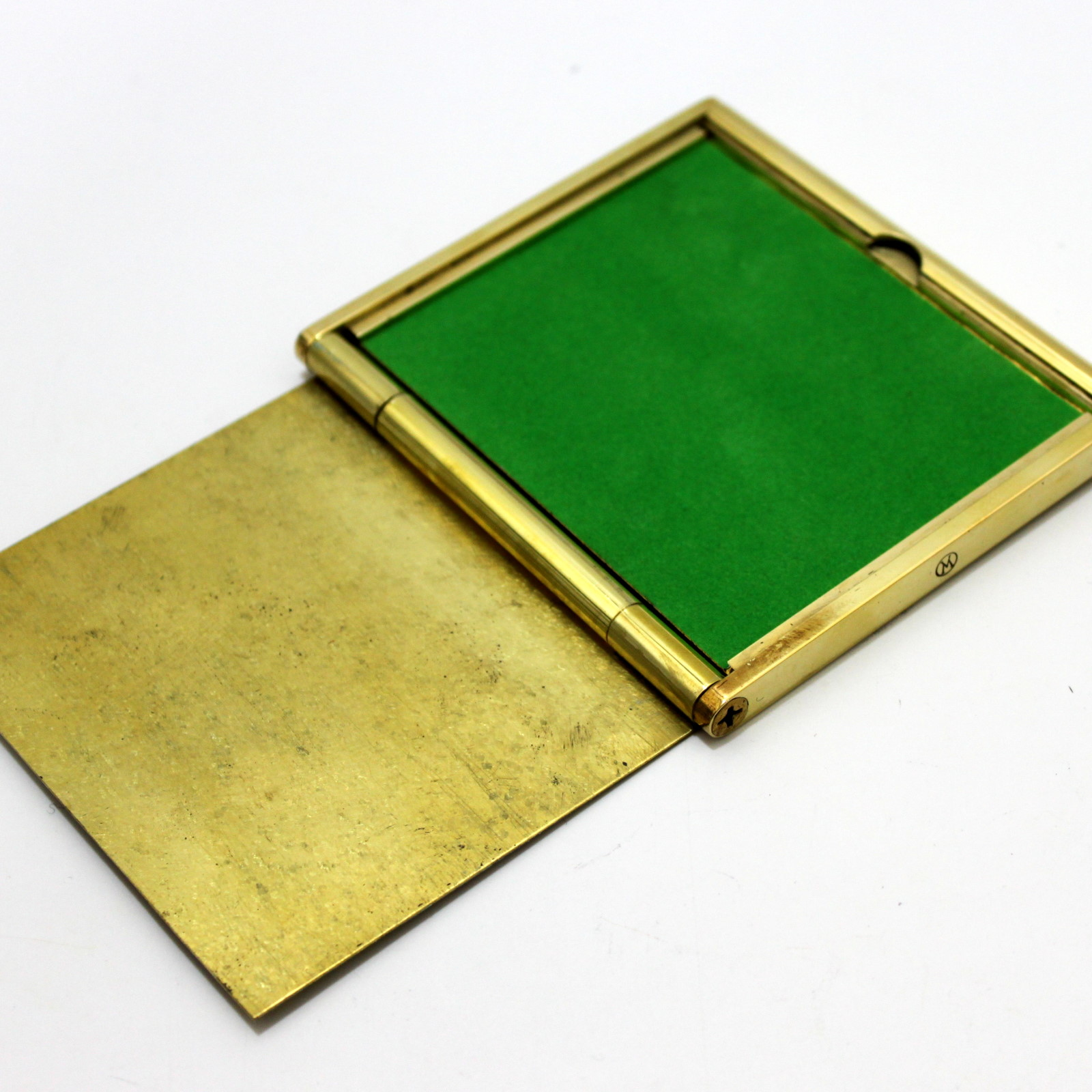 Brema Brass Thin Model Card Box (Version 3) by Viking Mfg.