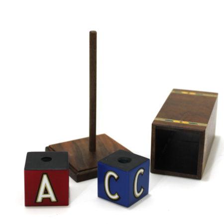 ABC Blocks – Mini (Inlaid) by Mel Babcock