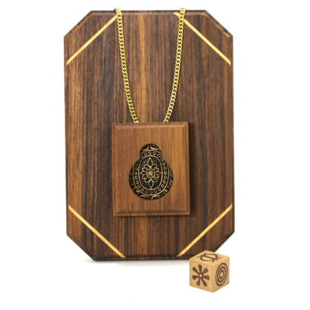 Adinkra Necklace by Magic Wagon