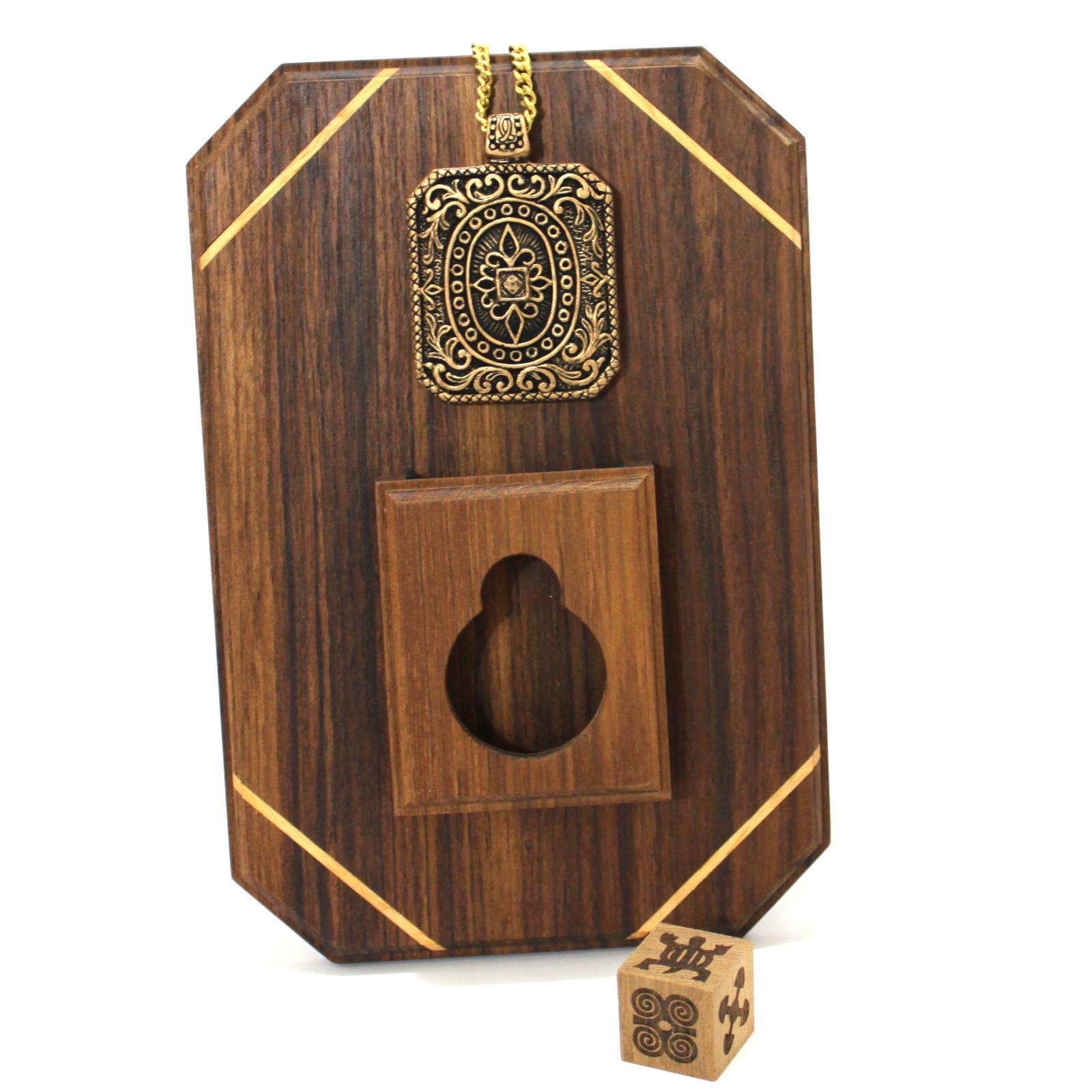 Adinkra Necklace by Magic Wagon