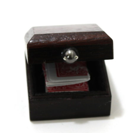 Card in Ring Box by Tommy Wonder and Auke Van Dokkum