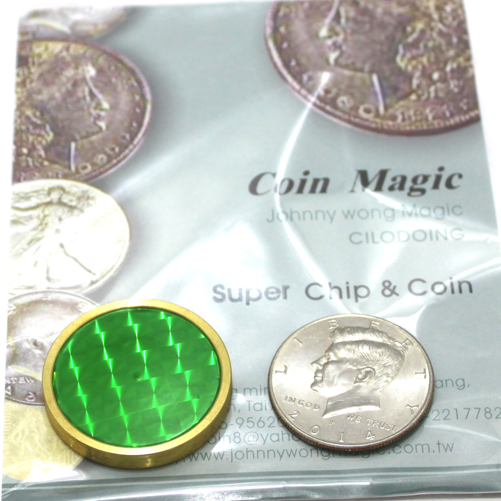 Super Chip and Coin by Johnny Wong