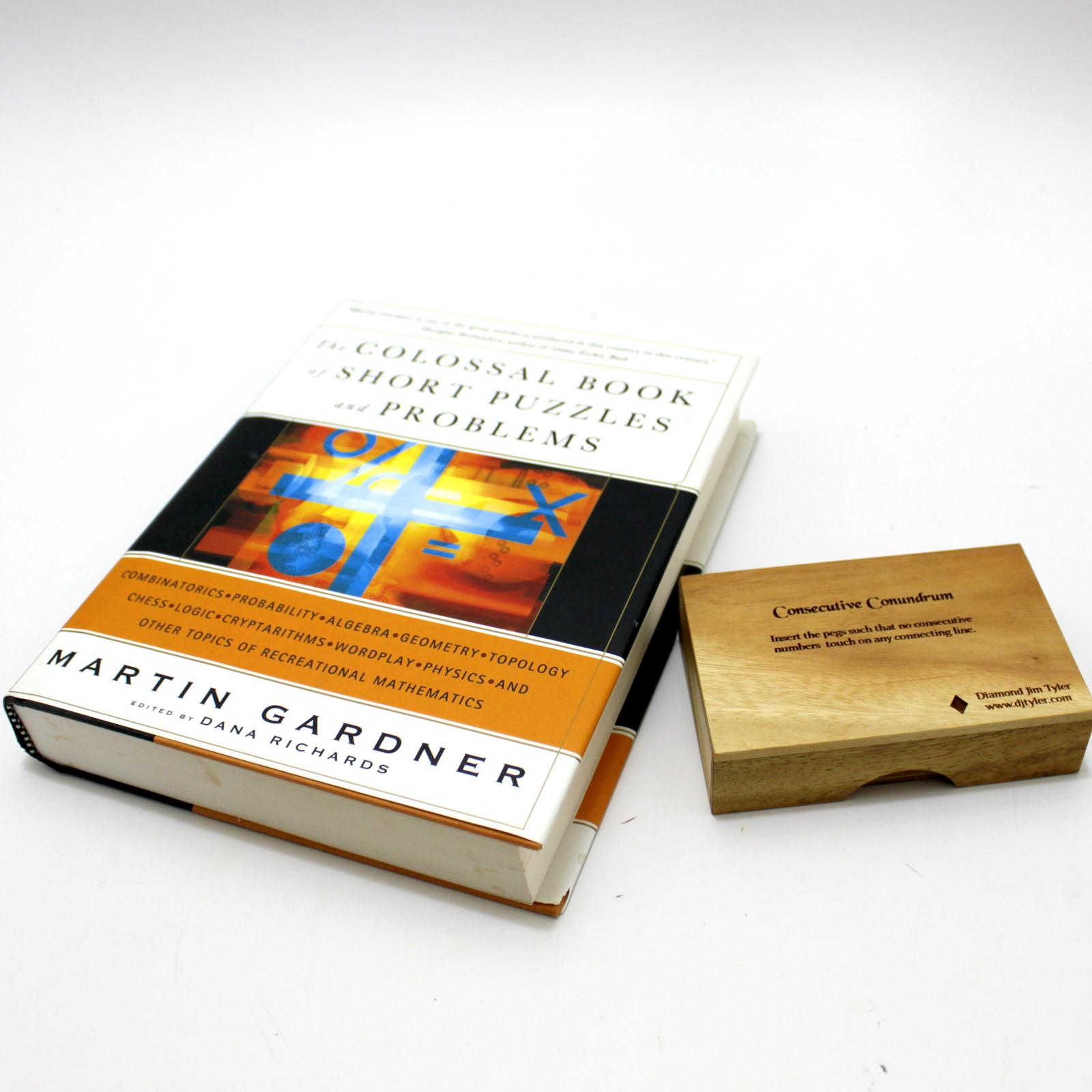 Consecutive Conundrum + Colossal Book by Martin Gardner