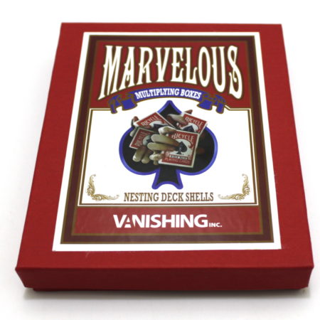 Marvelous Multiplying Card Boxes by Matthew Wright