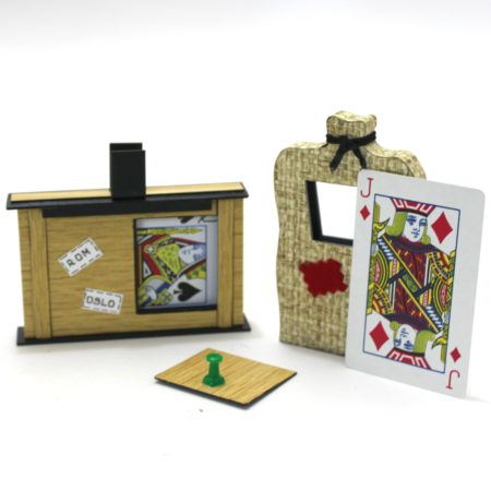 Mini Substitution Trunk with Cards by Vienna Magic