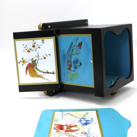 Mini Okito Tip Over Box by Illusion Arts Magic