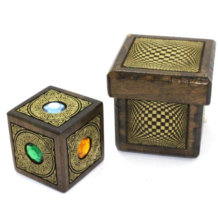 Vision Cube Jeweled / Odin Cube by Handcrafted Miracles
