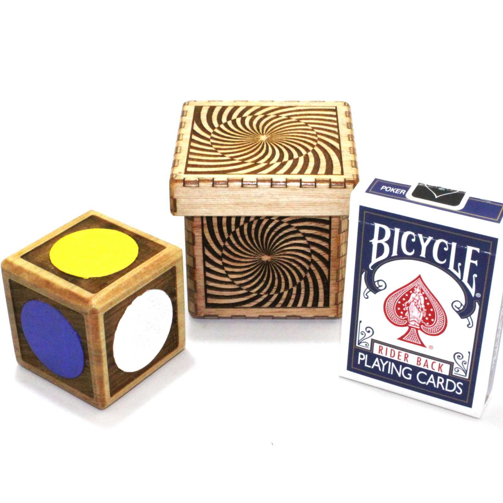 Vision Cube Color Spots / Psycolor Cube by Handcrafted Miracles