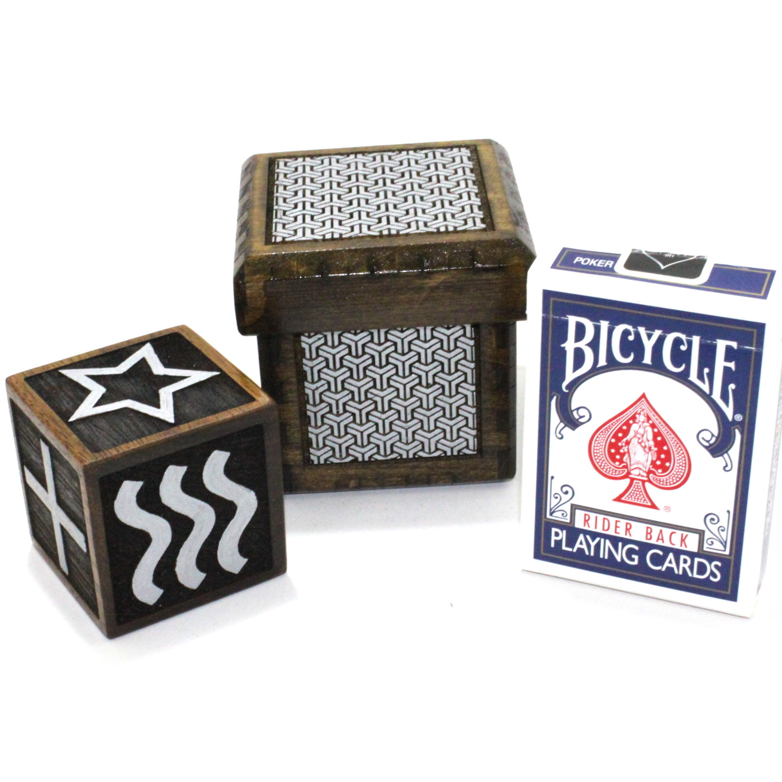 Vision Cube ESP Symbols / Second Sight Cube by Handcrafted Miracles