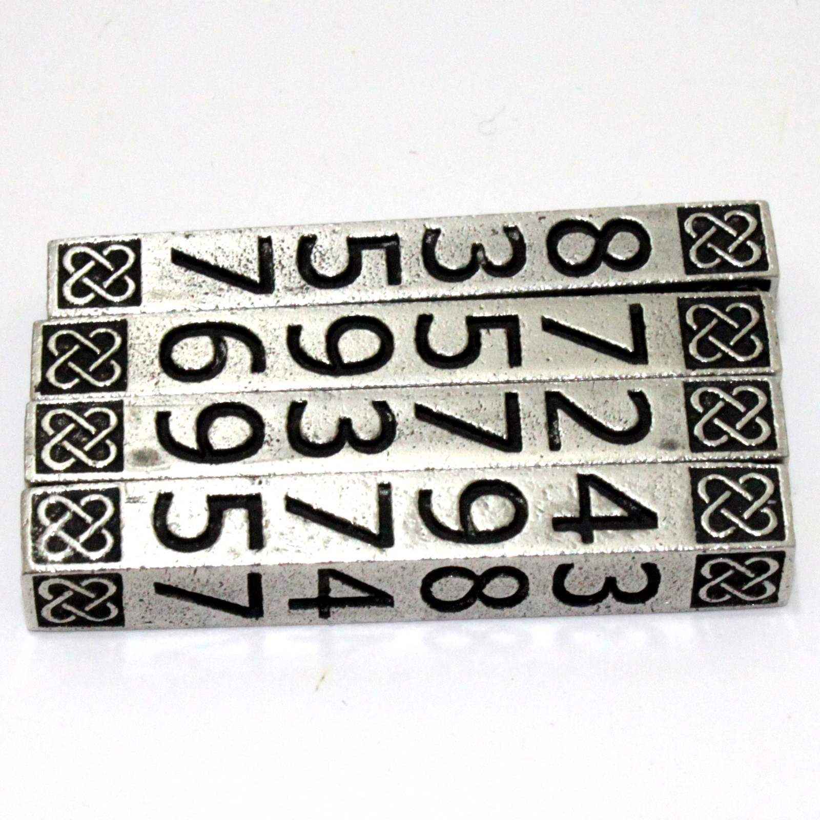Fine English Pewter Mental Logs Outdone by Brian Watson