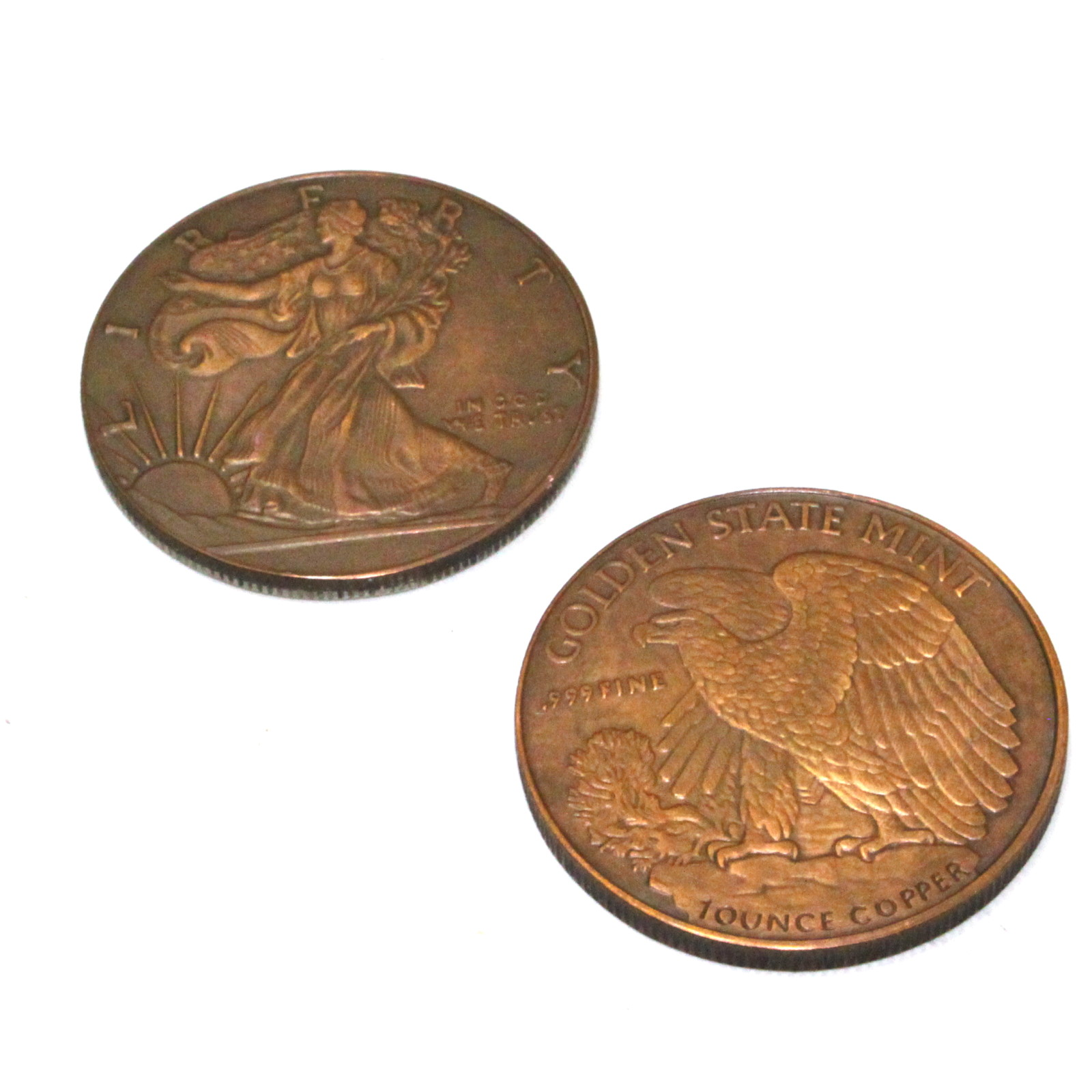 Copper Silver (Silver Morgans) by Roy Kueppers
