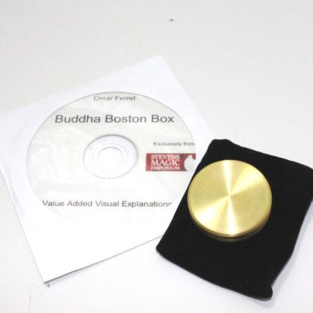 Buddha Boston Box PLUS (Eisenhower Dollar) by Omar Ferret