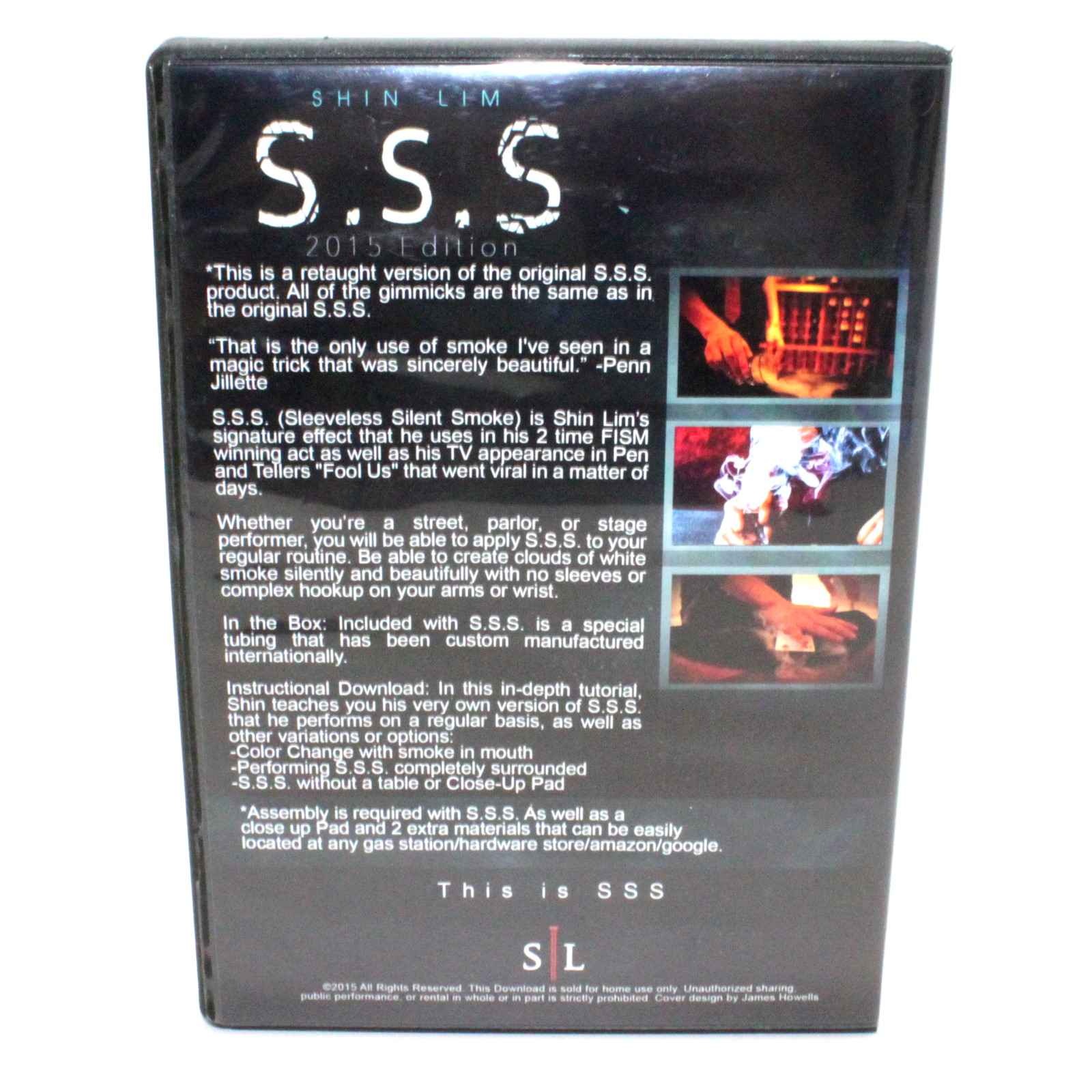 S.S.S (2015 Edition) by Shin Lim
