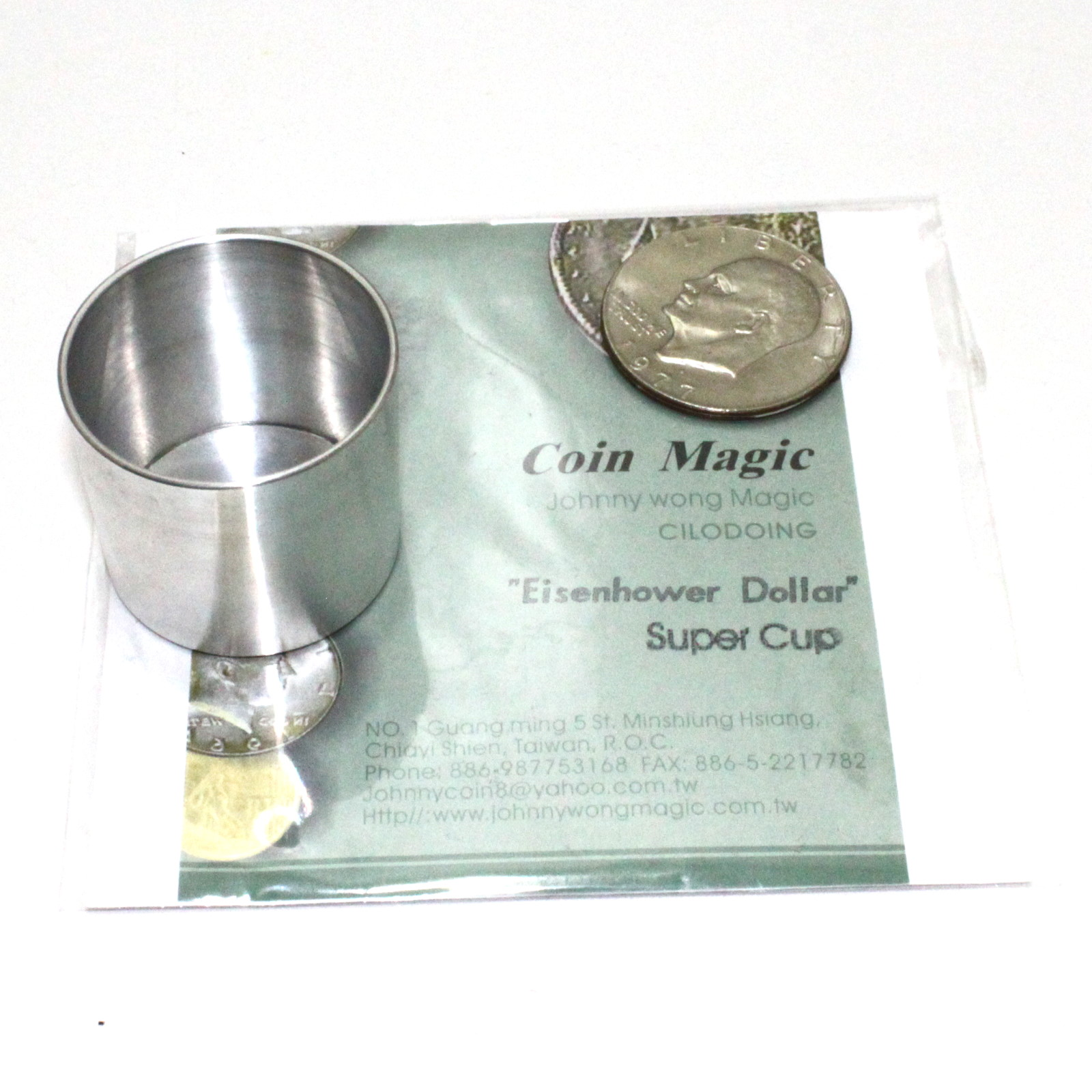 Super Cup (Eisenhower Dollar) by Johnny Wong