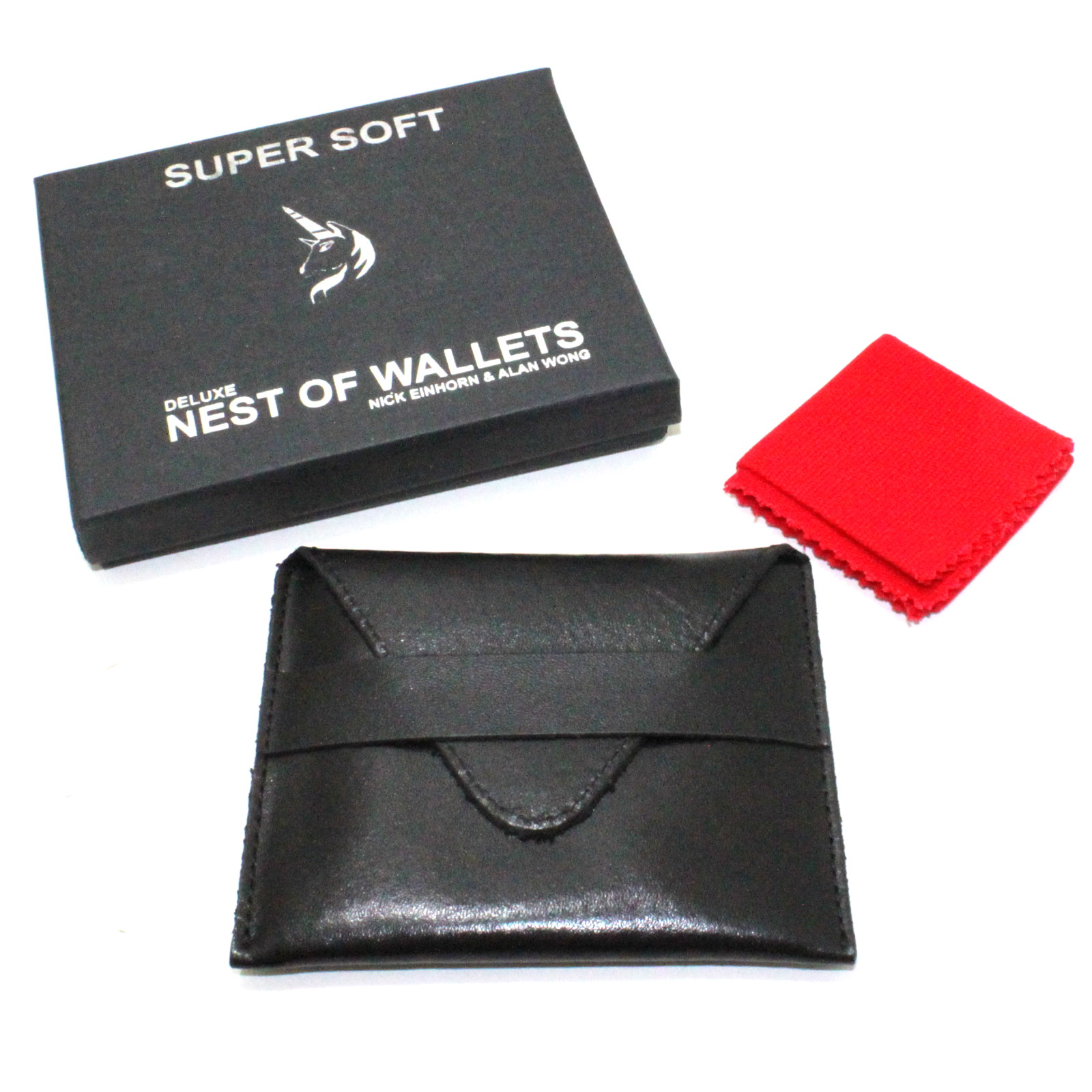 Super Soft Nest of Wallets by Nick Einhorn, Alan Wong