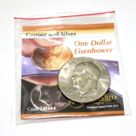 Copper and Silver (Eisenhower Dollar) by Tango Magic