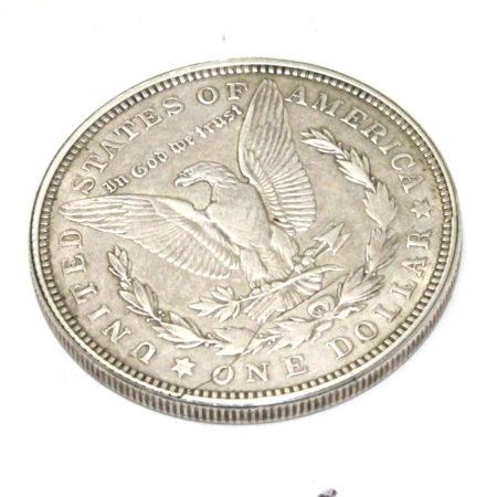 Flipper Coin Pro Gravity (Silver Morgans) by Tango Magic