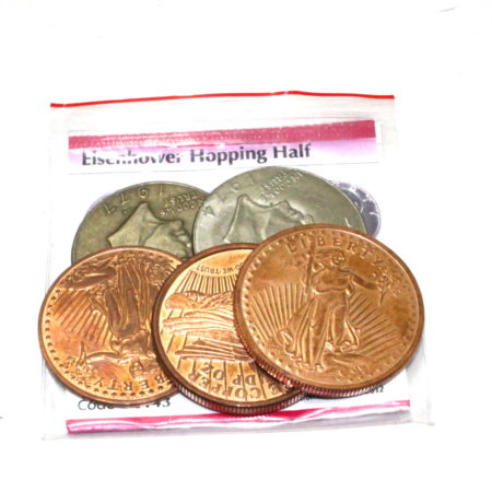Hopping Half (Eisenhower Dollar) by Tango Magic