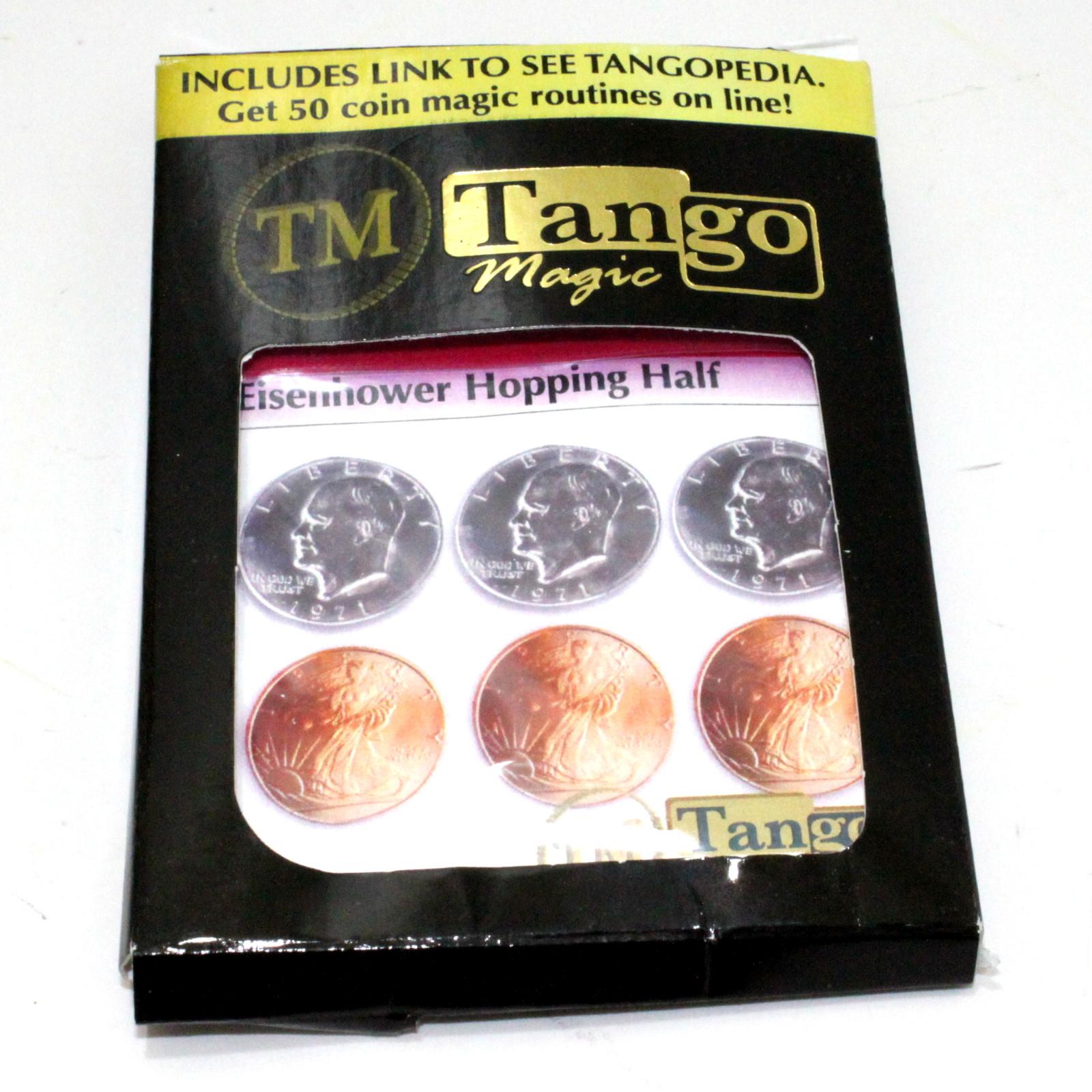 Hopping Half (Eisenhower Dollar) by Tango Magic