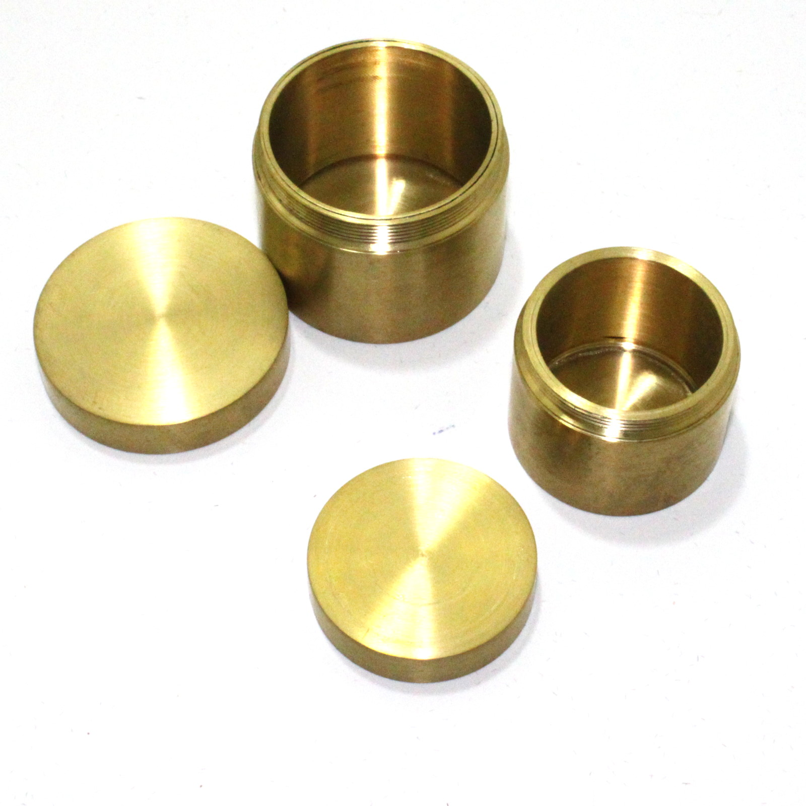 Brass Nest of Boxes by Tango Magic