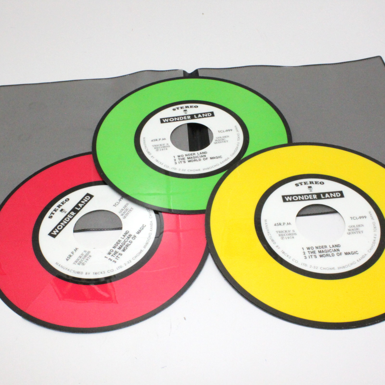 Color Changing Records by Tricks Co.