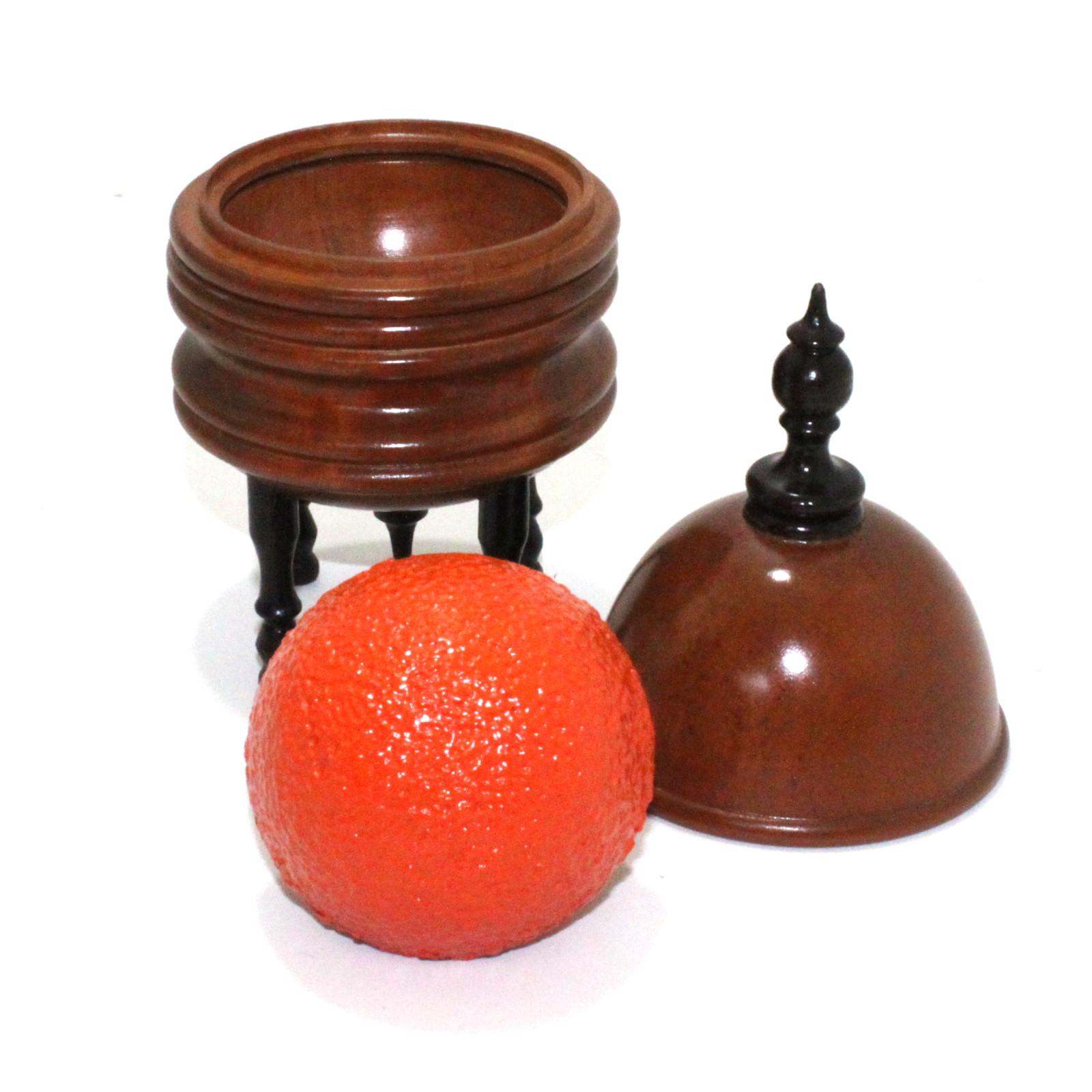 Tarbell orange vase by collectors workshop martin 39 s for Orange vase