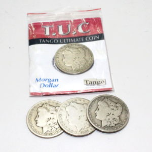 Tango Ultimate Coin T.U.C (Silver Morgans) by Tango Magic