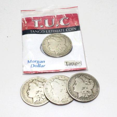 Tango Ultimate Coin T.U.C (Silver Morgans) by Tango Magic