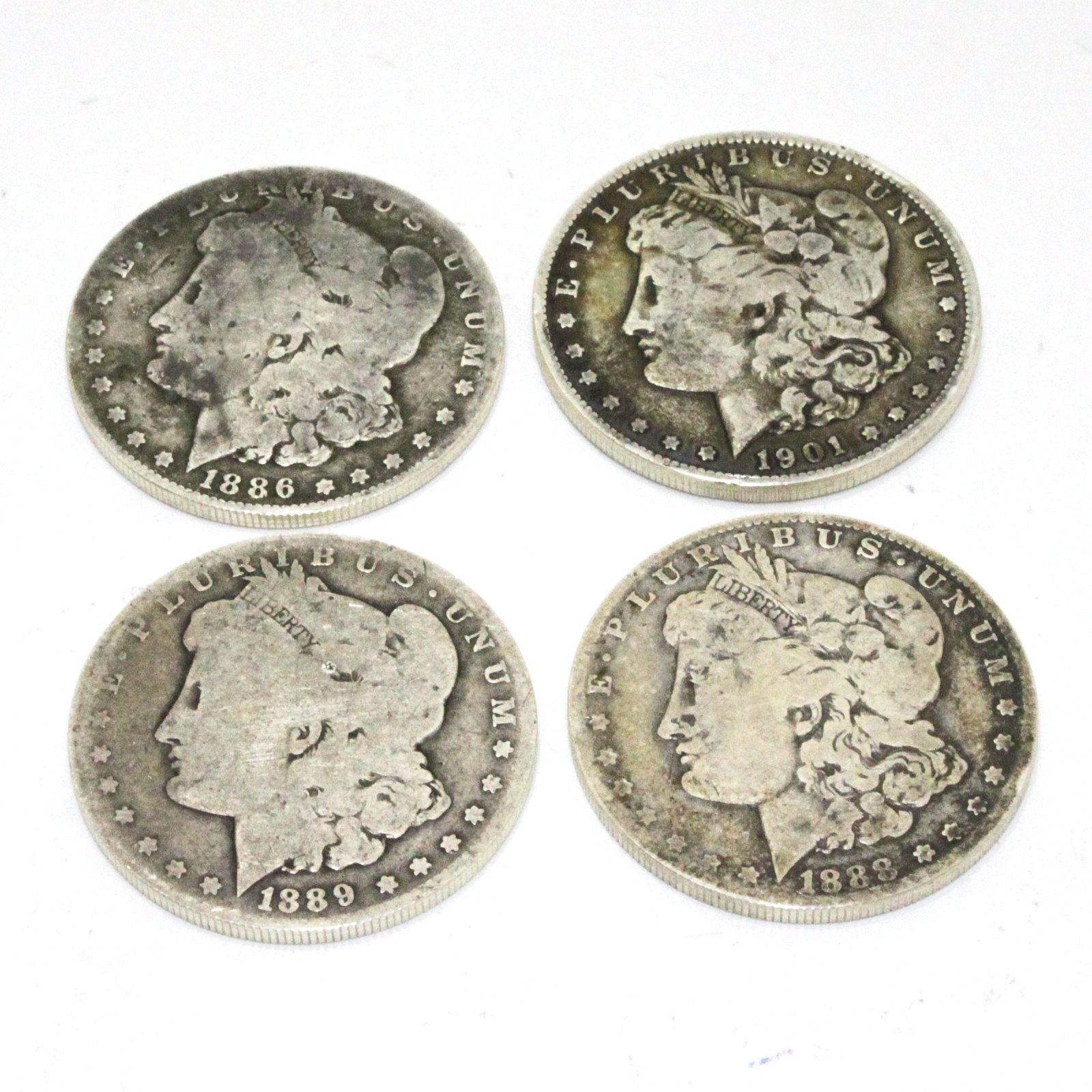 Expanded Silver Morgan Dollar Shell Set by Auke Van Dokkum