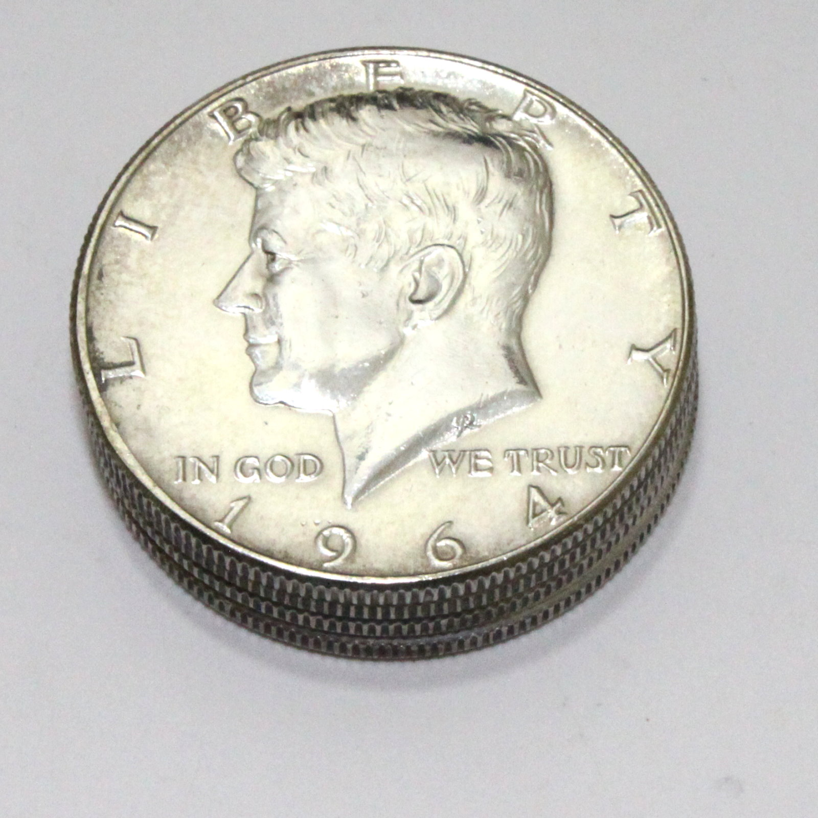 Cylinder and Coin Set with 1964 Silver Kennedys by Frank Starsinic, et al